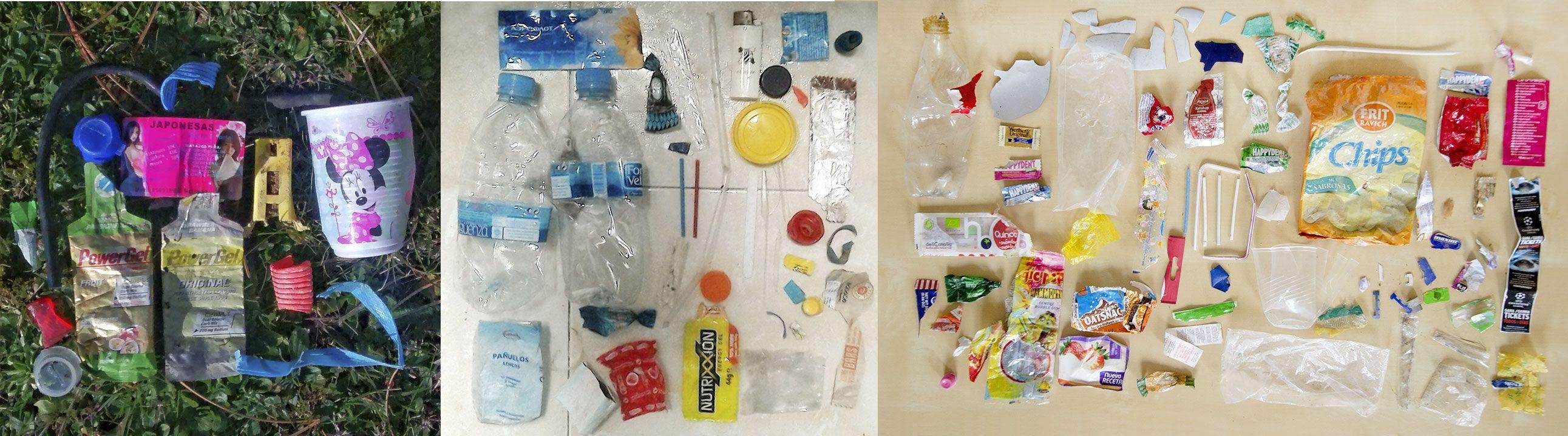 Plásticos recogidos en enero 2016