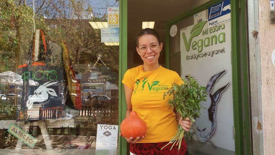 Lourdes de Mi cabra vegana