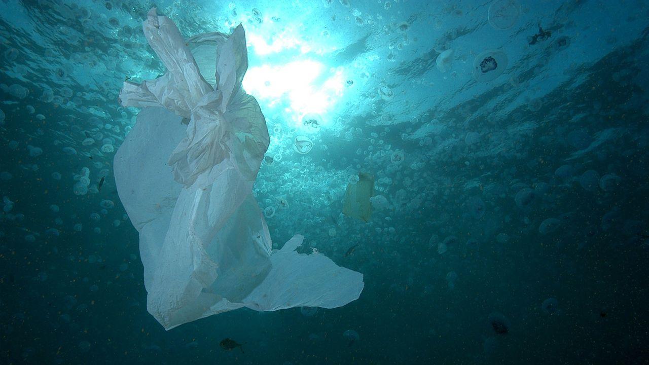 Contaminación de plásticos en el Méditerraneo