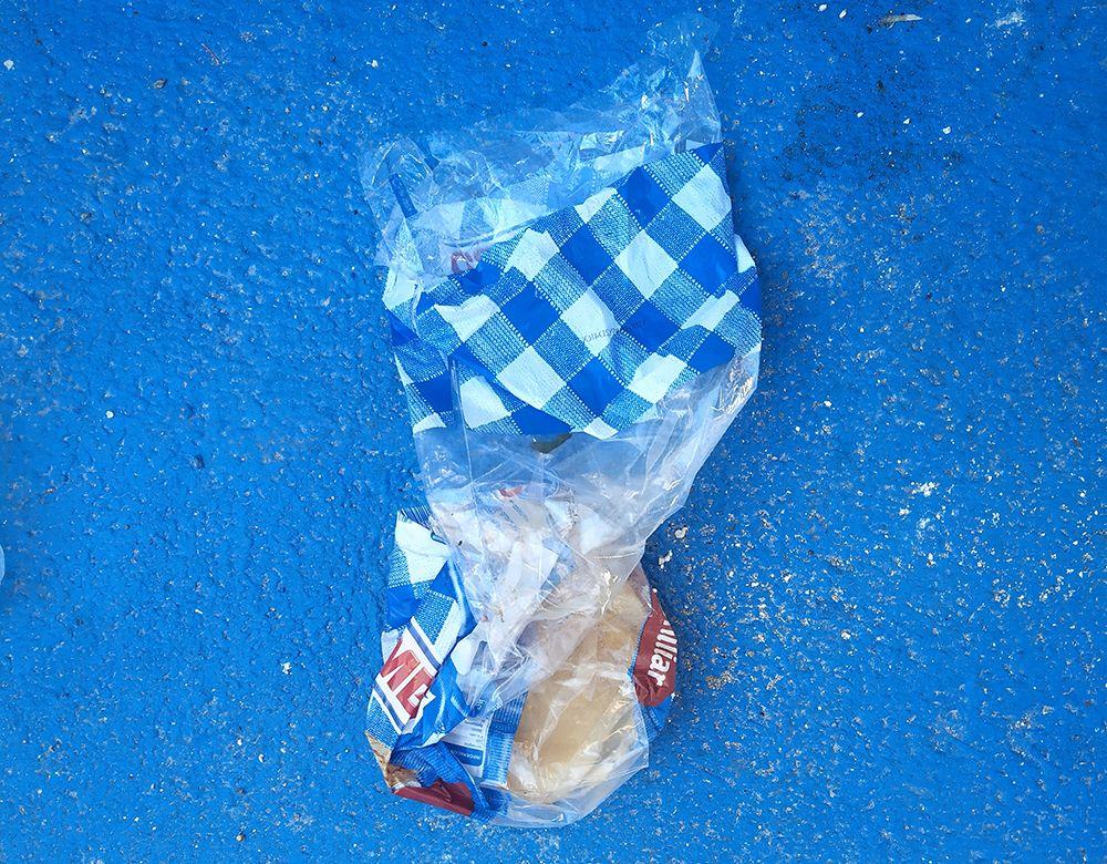 Las bolsas de plástico de alimentación no se suelen reciclar
